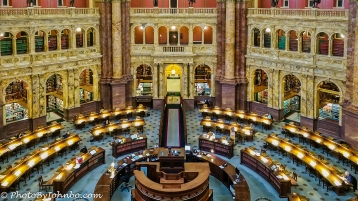 Main Reading Room, Library of Congress.