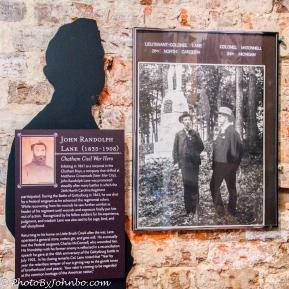 Col Lane, Local Civil War hero