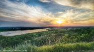 Missouri River Sunset-1