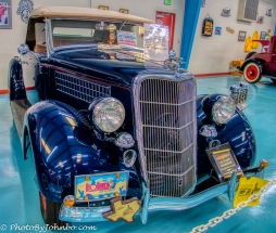 Prizewinning 1936 Ford Roadster