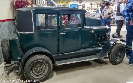 Ernie's first dwarf car