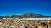 Sangre de Cristo Mountains.