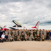 USAF Thunderbirds - Meet and Greet