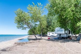 Sandy Beach camping area