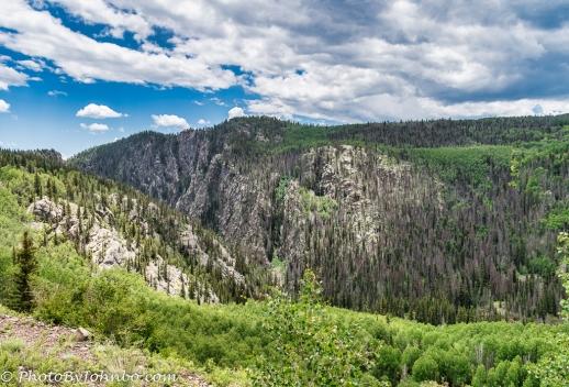 Rocky Mountain view.