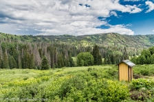 Rocky Mountain scene.