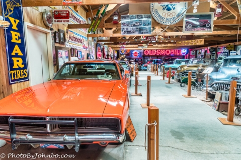 General Lee, one of the 17 TV cars.