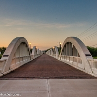 Fort Morgan - Historic Rainbow Arch Bridge