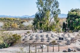 Prison graveyard.