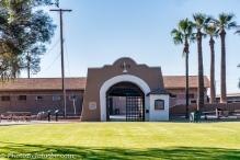 Entrance to Prison Cellblock area.