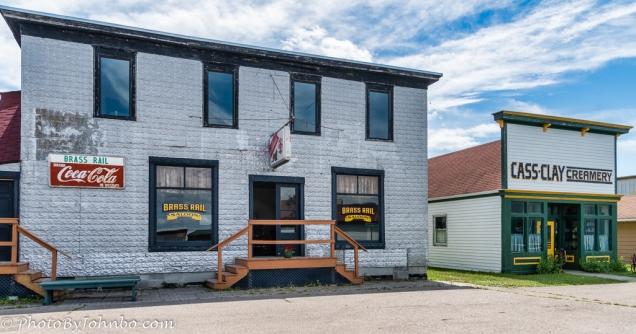 Brass Rail Hotel and Cass Clay Creamery